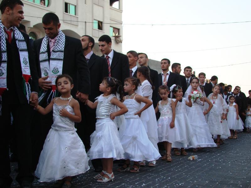 Massenhochzeit in Gaza